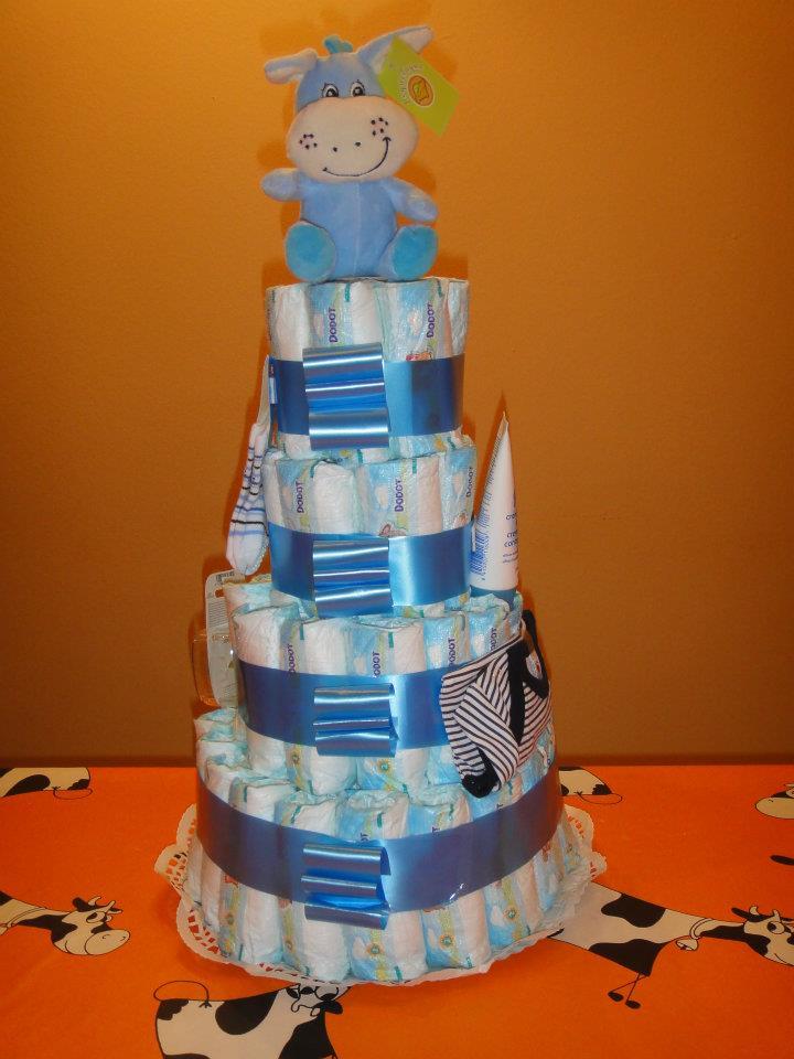 como hacer un pastel de paales para baby shower how to share the