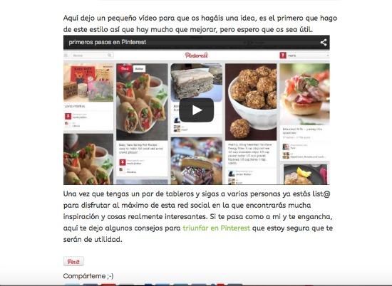 Subir un video a un post