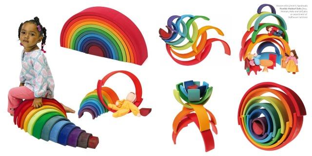arco iris Collage
