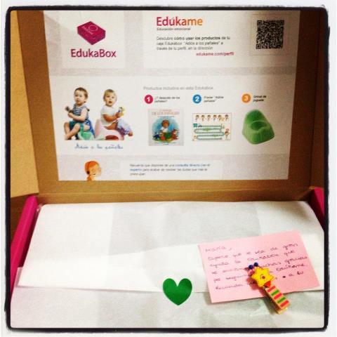 La primera impresión de la EdukaBox
