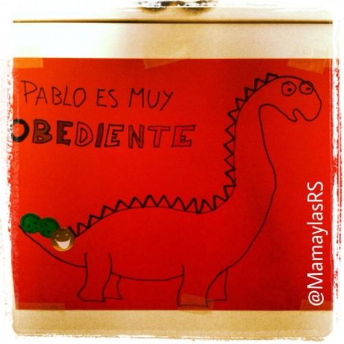 El dinosaurio obediente