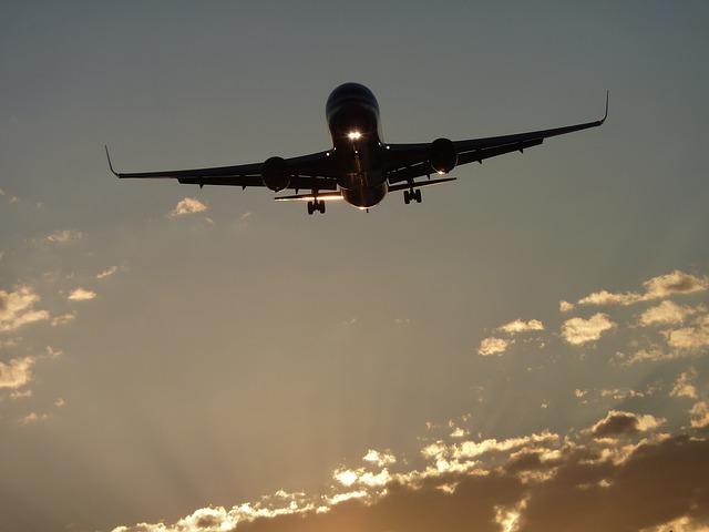 avion viajar