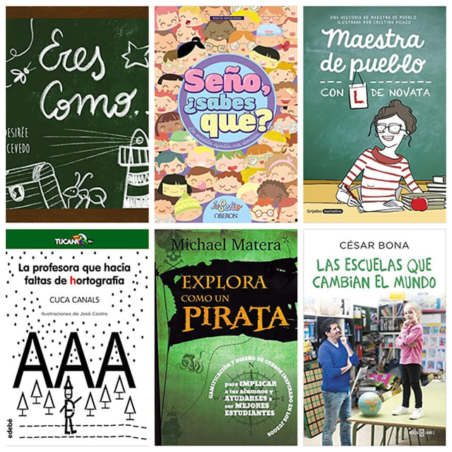 Libros para regalar a un profesor